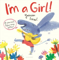 Book jacket for I'm a girl!