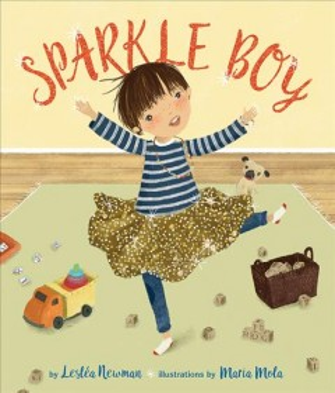 Book jacket for Sparkle boy