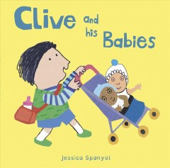Book jacket for Clive and his babies
