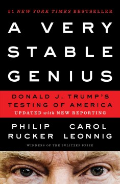 A very stable genius [electronic resource] : Donald j. trump