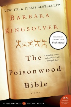 The poisonwood Bible Barbara Kingsolver.