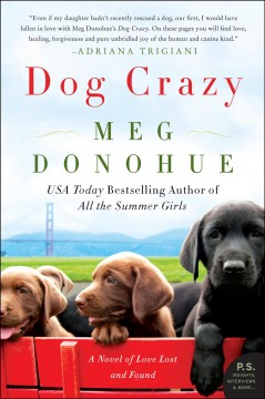 Dog crazy a novel of love lost and found / Meg Donohue.