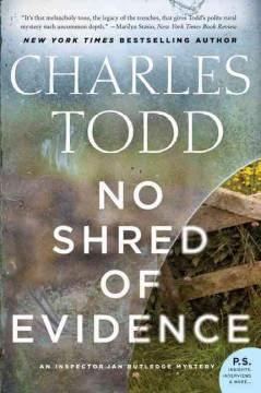 No shred of evidence Charles Todd.