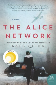 The Alice Network Kate Quinn.