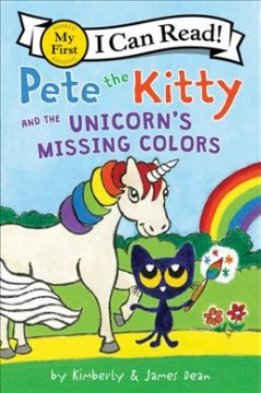 Pete the Cat and the unicorn's missing colors