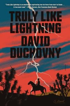 Truly like lightning David Duchovny.