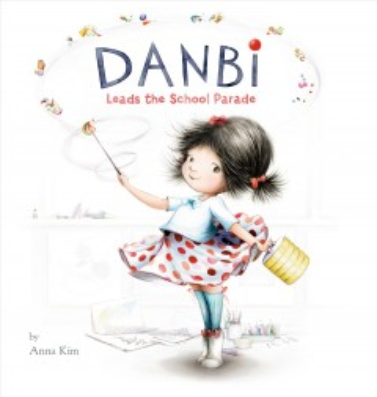 Danbi leads the school parade / by Anna Kim.