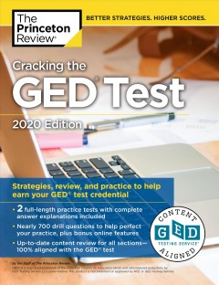 Cracking the GED test / the staff of the Princeton Review ; editor: Meave Shelton.