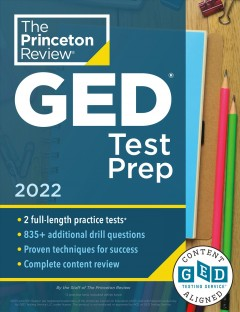 GED test prep, [2022] / the staff of the Princeton Review.