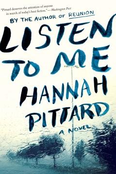 Listen to me Hannah Pittard.