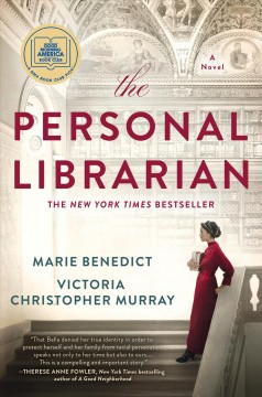 The personal librarian Marie Benedict and Victoria Christopher Murray.