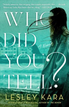 Who did you tell? : a novel