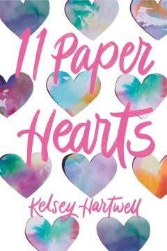 11 paper hearts