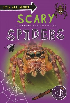 It's All About Scary Spiders : With Free Downloadable Audio