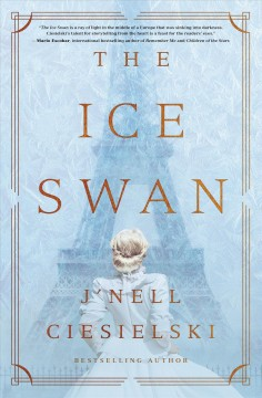 The ice swan J'nell Ciesielski.