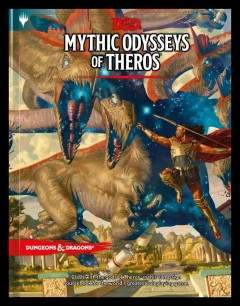 Dungeons & Dragons Mythic Odysseys of Theros : D&d Campaign Setting and Adventure Book