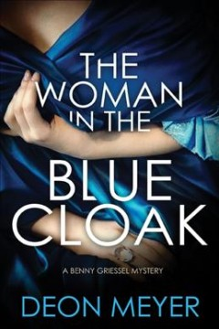 The woman in the blue cloak