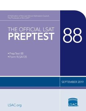 The Official Lsat Preptest : September 2019 Lsat