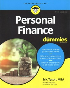 Personal finance / by Eric Tyson, MBA.