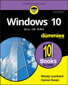 Windows 10 All-in-one for Dummies,