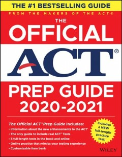 The Official ACT Prep Guide 2021 + Bonus Online Content