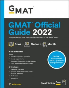 Gmat Official Guide 2022 : Book + Online Question Bank