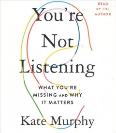 You're Not Listening (CD)