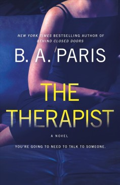 The therapist B.A. Paris.