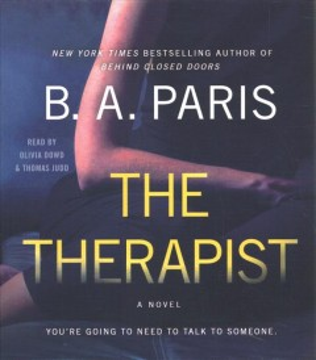 The therapist / B. A. Paris.
