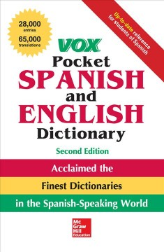 Vox pocket Spanish and English dictionary.