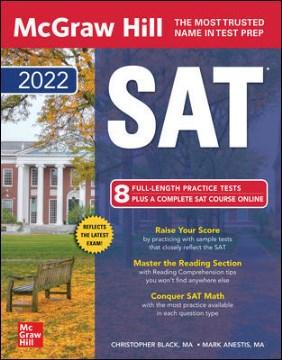 Mcgraw-Hill Education SAT 2022