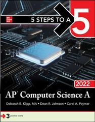 Ap Computer Science a 2022