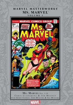 Marvel masterworks presents Ms. Marvel. Volume 1, issue 1-14