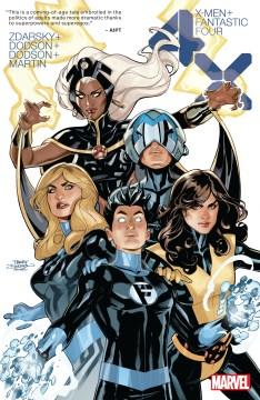 X-Men/Fantastic Four : 4X. Issue 1-4