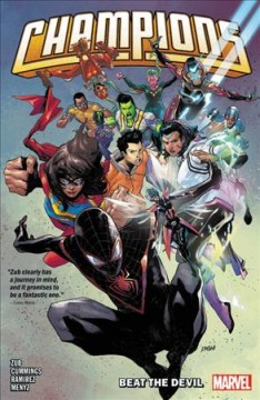 Champions by Jim Zub. Volume 1, issue 1-6, Beat the devil