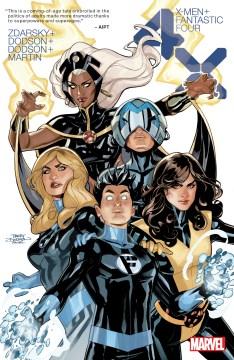X-Men/Fantastic Four 1-4