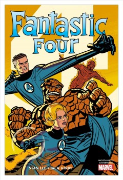 Mighty Marvel Masterworks the Fantastic Four 1 : The World's Greatest Heroes