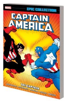 Captain America Epic Collection the Captain Vs. Captain America