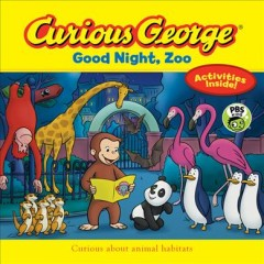 Curious George good night, zoo / adaptation by Gina Gold.