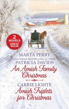 An Amish family Christmas / Marta Perry, Patricia Davids. Amish triplets for Christmas / Carrie Lighte.