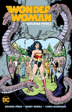 Wonder Woman by George Perez 4