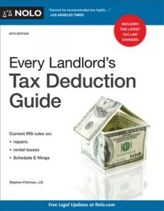 Every landlord's tax deduction guide [16th edition]