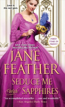 Seduce me with sapphires Jane Feather.