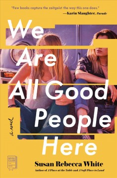 We are all good people here Susan Rebecca White.