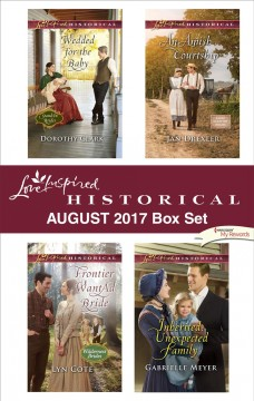 Love inspired historical august 2017 box set Dorothy Clark [and 3 others].