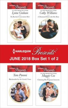 Harlequin Presents. June 2018--Box Set 1 of 2 Cathy Williams, Lynne Graham, Tara Pammi and Maggie Cox.
