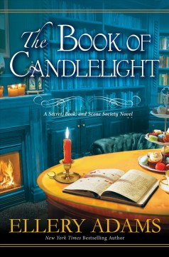 The book of candlelight Ellery Adams.