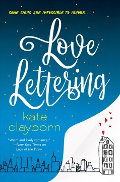 Love lettering Kate Clayborn