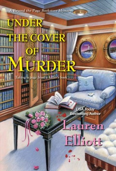 Under the cover of murder Lauren Elliott.
