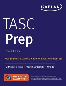 TASC prep : 2 Practice Tests + Proven Strategies + Online.